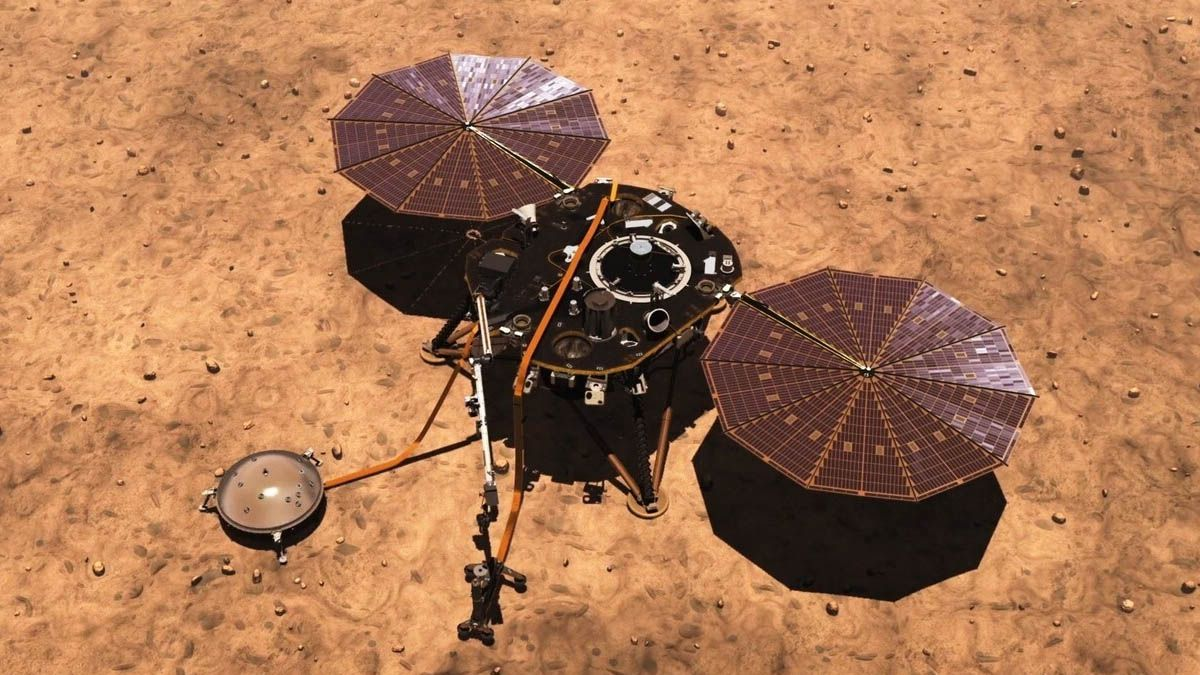 NASA InSight, hibernating due to excessive dust