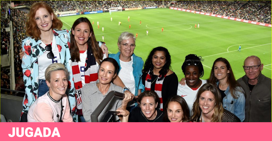 Natalie Portman and other Hollywood stars enter the world of football