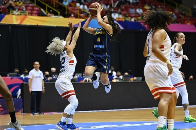 Nothing makes history: Colombia eliminated from the US FIBA Women's Championship بطولة
