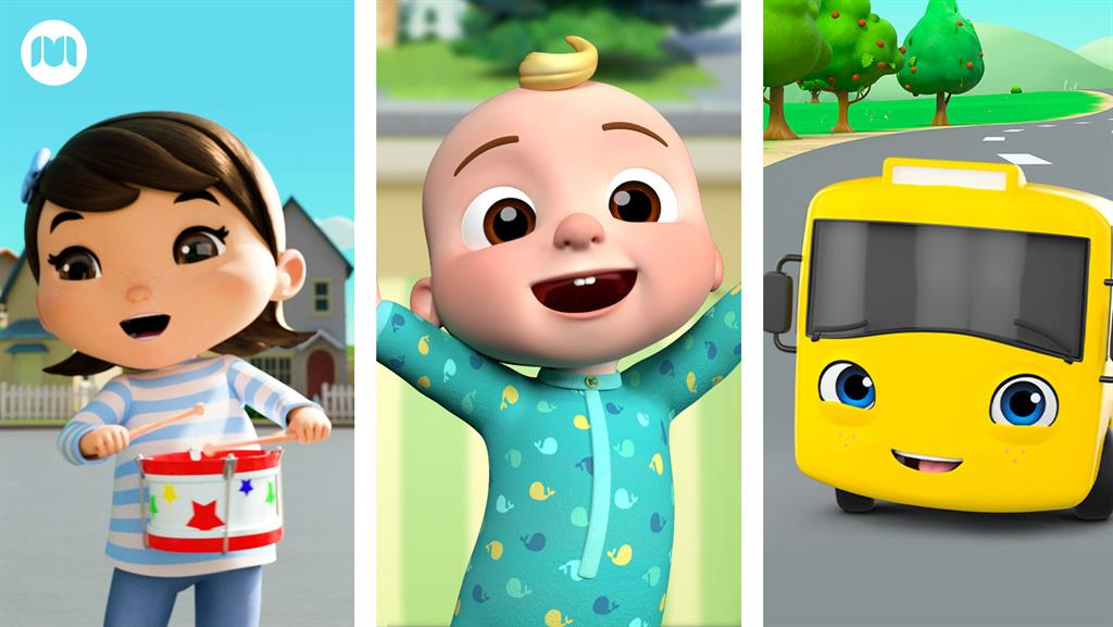Popular children's shows from Moonbug Entertainment come to the BBC