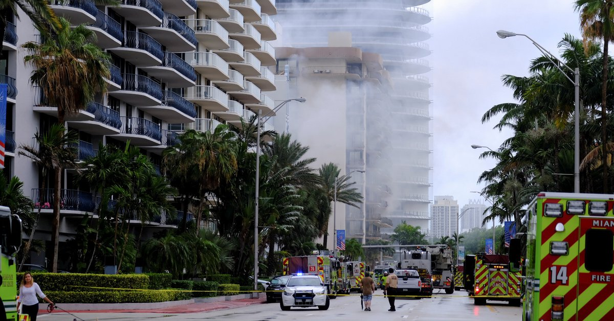 SRE announced that there were no Mexican victims in the collapsed building in Miami