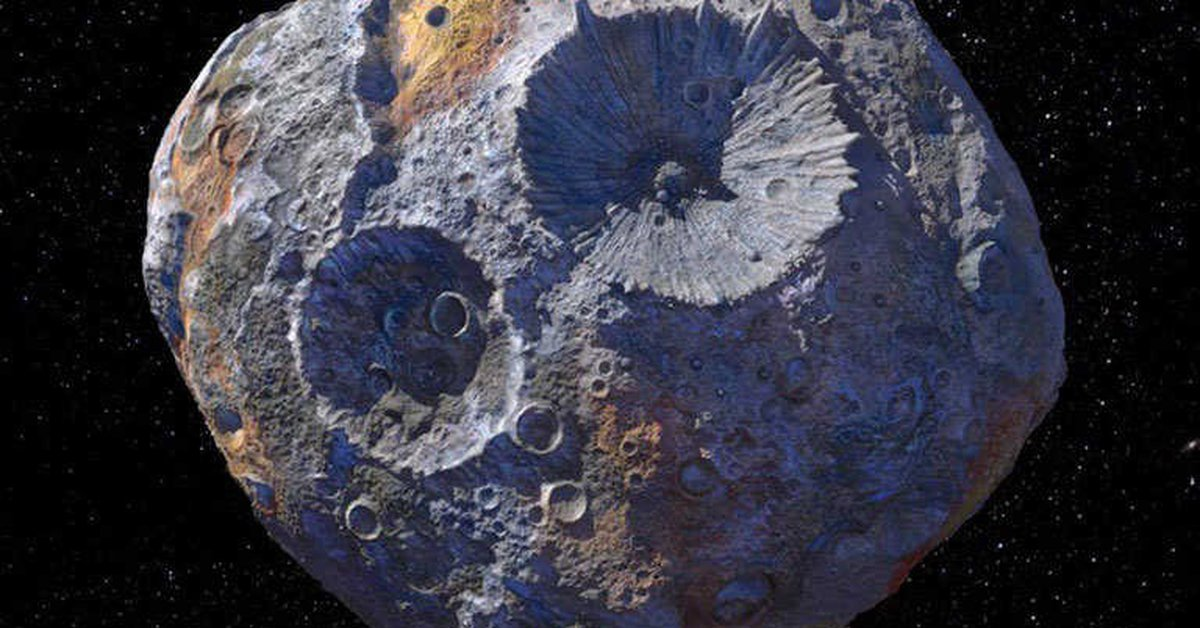 Science.  – Asteroid Psyche may not be as metallic as thought