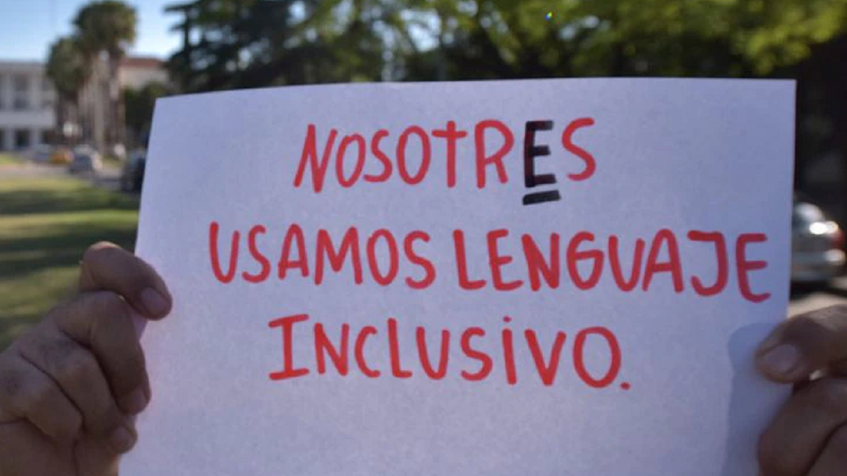 The National Academy of Education talked about the use of inclusive language