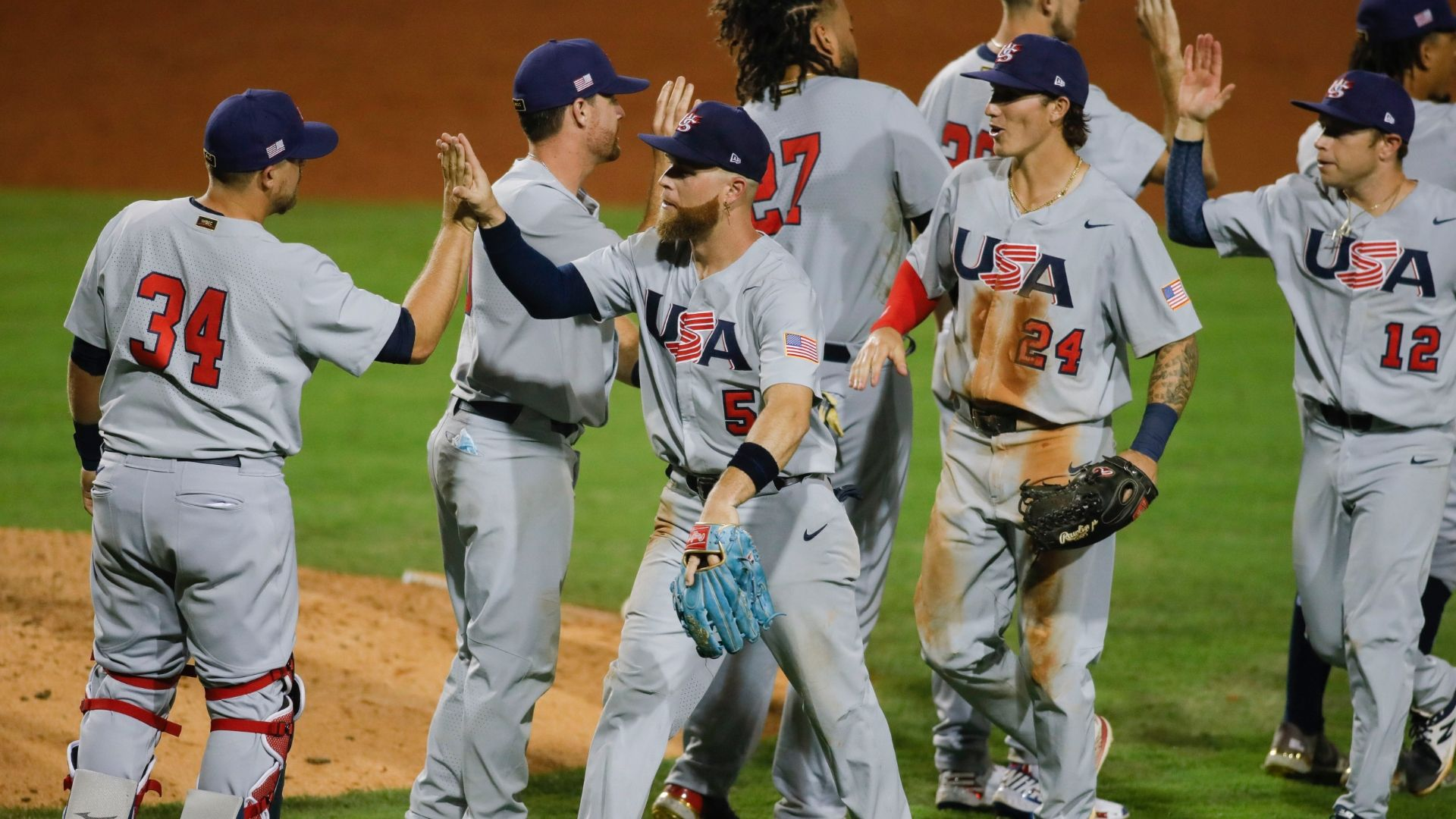 The United States easily beat Nicaragua in pre-Olympic baseball