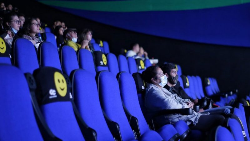 This is how Cine Colombia performed at its reopening after more than a year of closing
