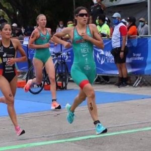 Triathlon player Elizabeth Bravo confirms her place in Tokyo and fourth place in Mexico |  Other sports |  Sports