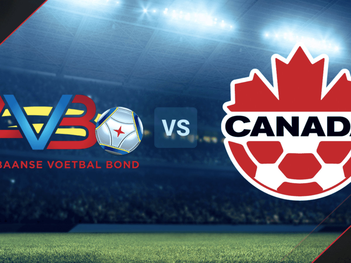 Which channel broadcasts aruba vs.  Canada CONCACAF Qualifiers