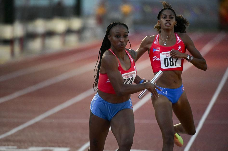 Women's 4×400 relay drawn from battle to Tokyo |  Sports