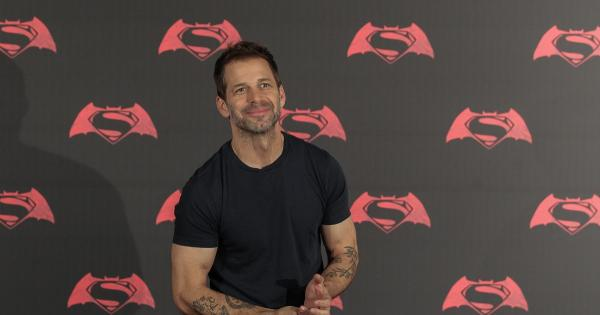 Zack Snyder says Warner has kept the results of Snyder's story about him and his hopes are pinned on Discovery