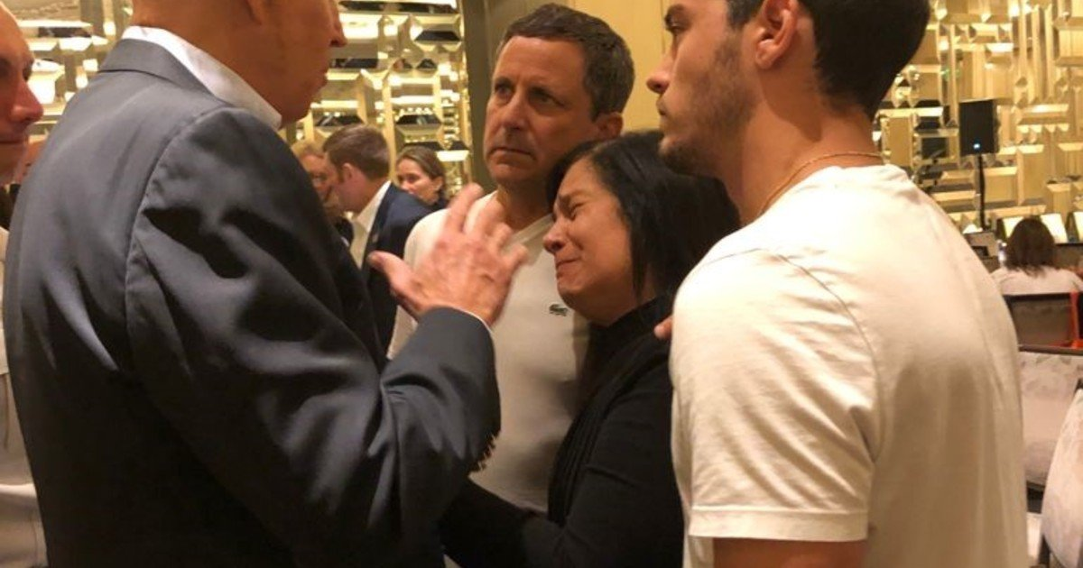 Joe Biden and a face-to-face meeting with an Argentine family that has their missing daughter