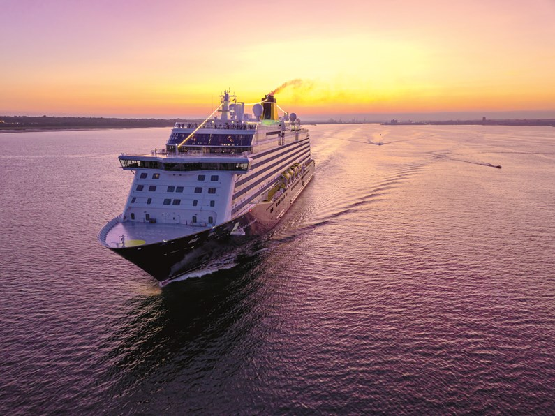 Saga Cruises completes its first UK cruise since 2020