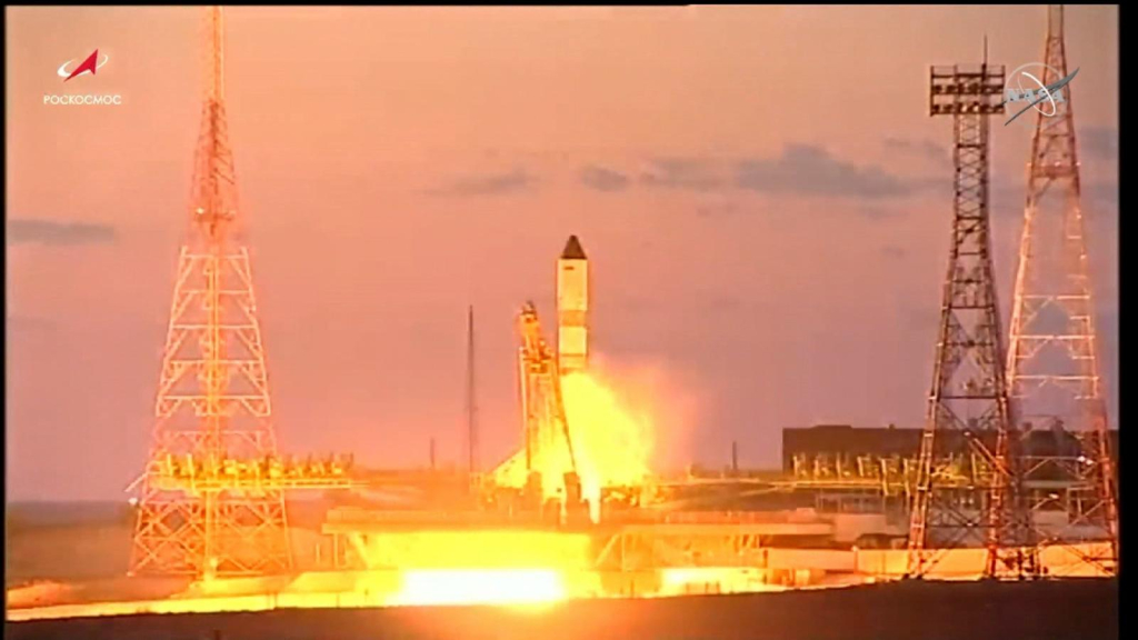 Russia launches spacecraft to the International Space Station