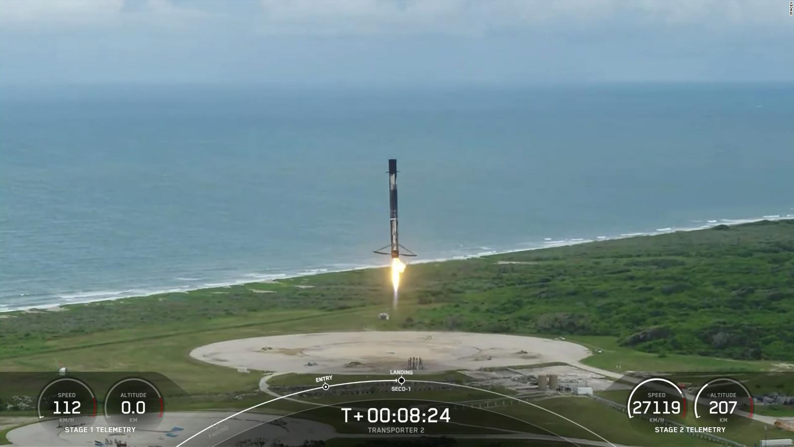 SpaceX puts 88 satellites into orbit on a joint flight mission    Video