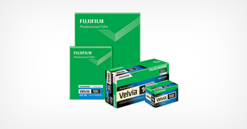 Fujifilm forced to discontinue Velvia 100 in the United States by the Environmental Protection Agency
