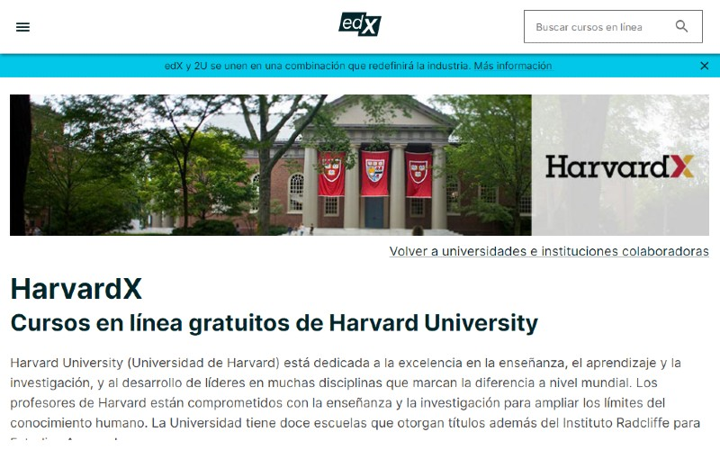 Harvard University launched free and online courses: what they are and how to enroll
