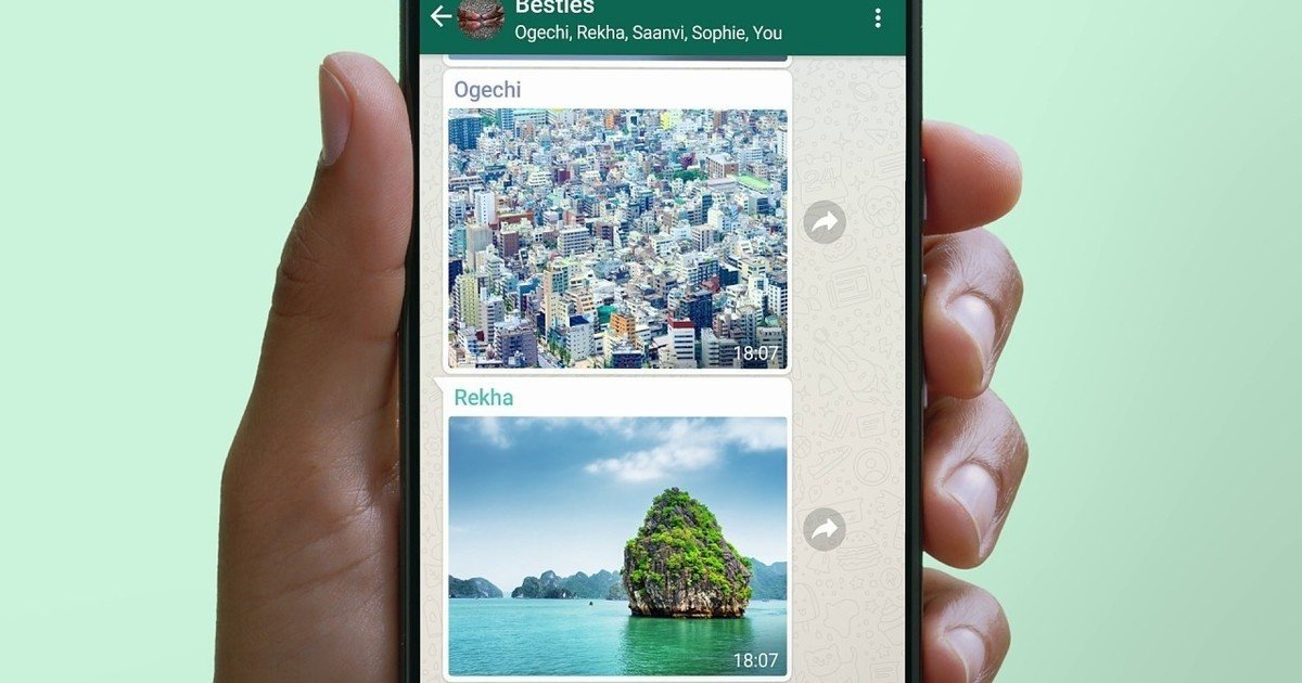 New option to choose the quality of sending photos and videos