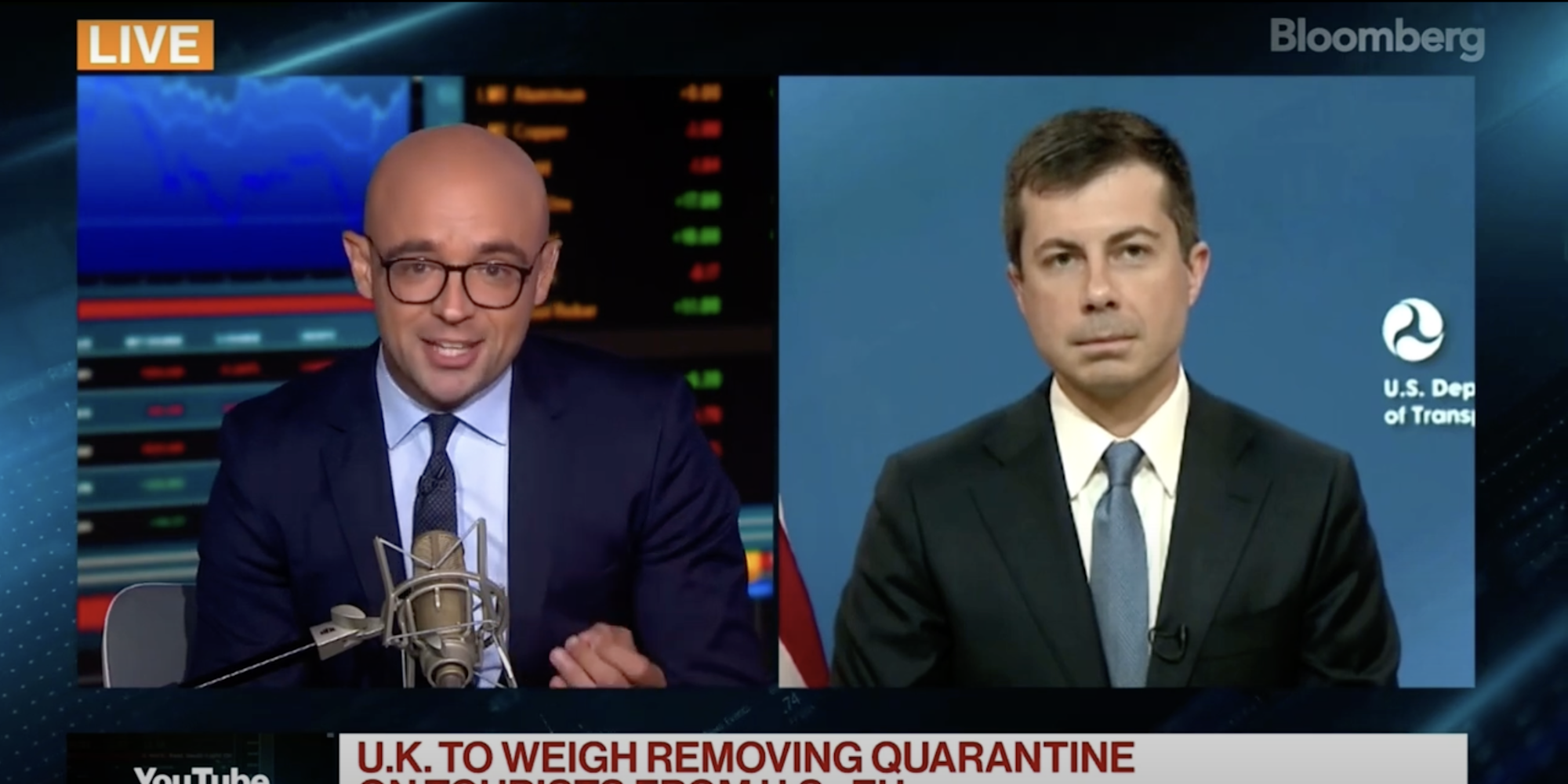 Journalist confronts Buttigieg over British-American restrictions that made him miss his father's funeralناز