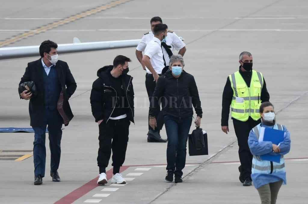 Lionel Messi made a lightning trip to Buenos Aires to arrange his holidays in the United States :: El Litoral – News – Santa Fe – Argentina
