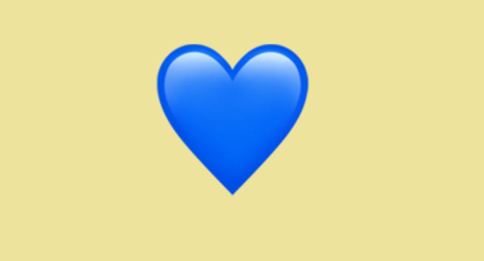 WhatsApp |  Does the blue heart emoji mean |  blue heart |  Meaning |  Applications |  Applications |  feelings |  Smartphone |  Mobile phones |  trick |  Tutorial |  United States |  Spain |  Mexico |  NNDA |  NNNI |  SPORTS-PLAY