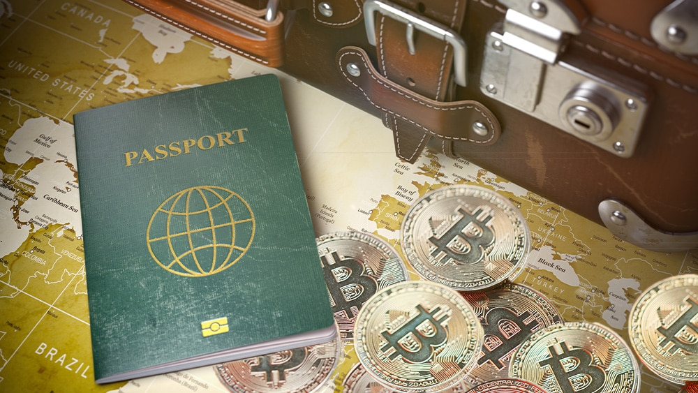 Looking for a country with favorable bitcoin taxes?  This company handles passports