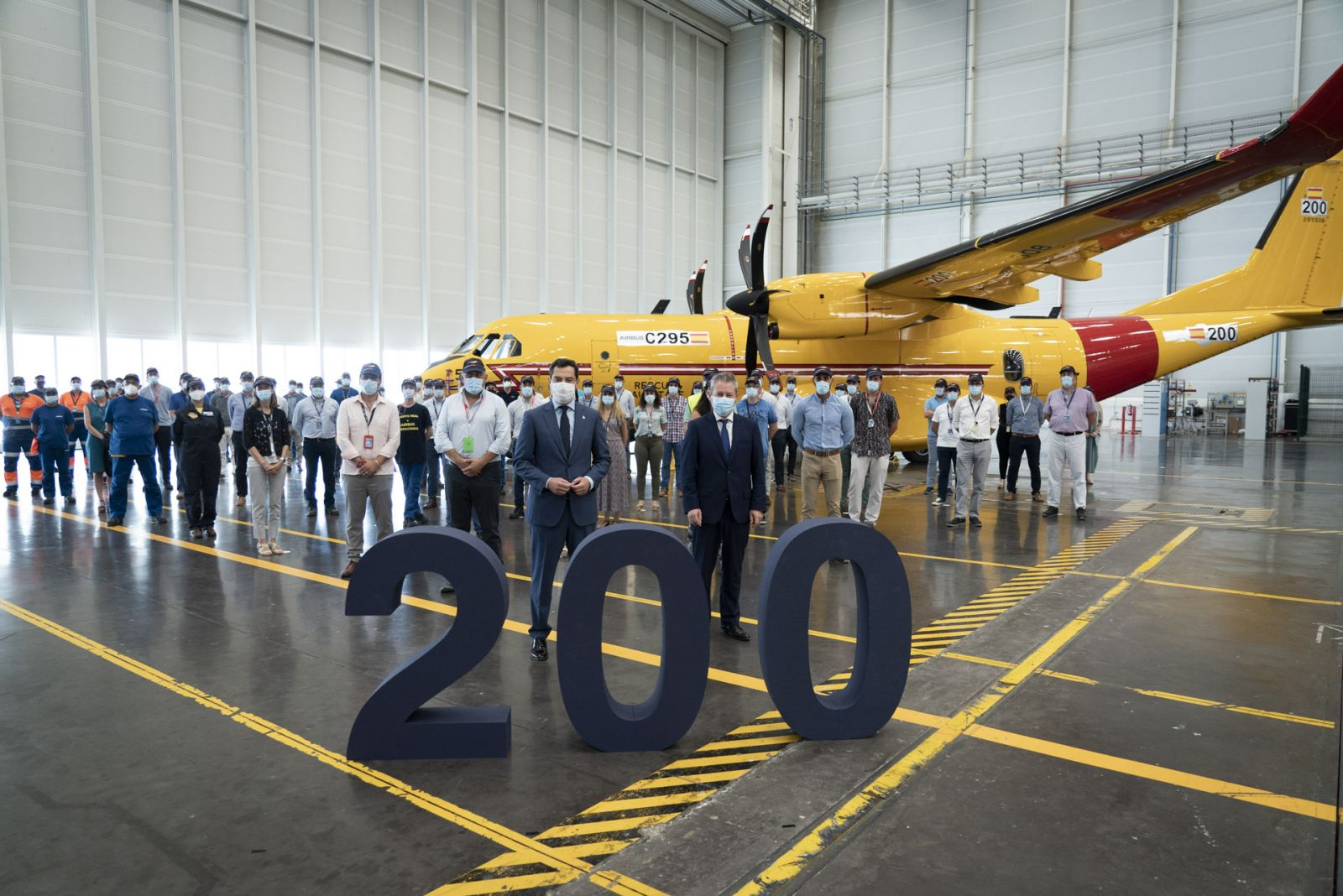 Canada receives its 200th Airbus C295 transport aircraft