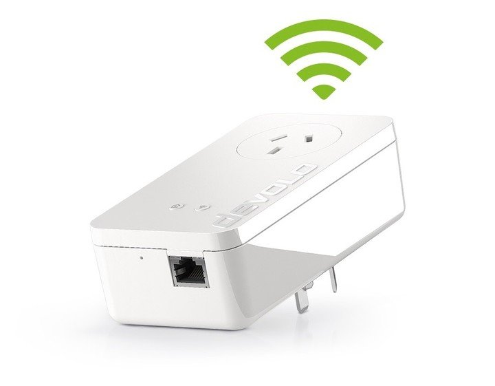devolo converters transmit the Internet signal through the electrical current (Powerline technology) in every home.