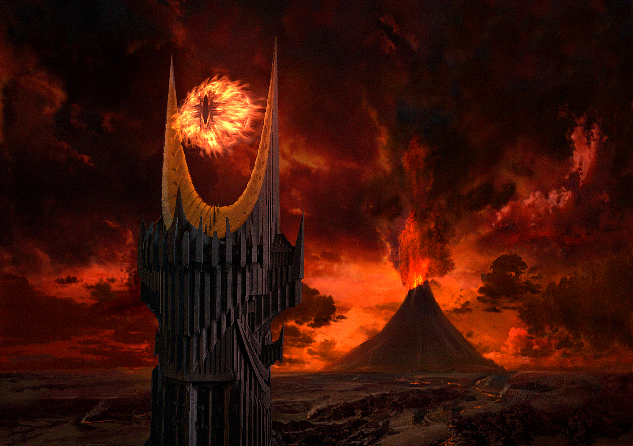 They found the Eye of Sauron at the bottom of the Indian Ocean