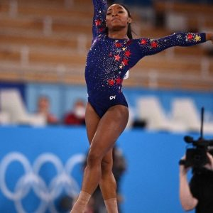 Simone Biles went off limits in her first workout and got everyone on edge at Tokyo 2020