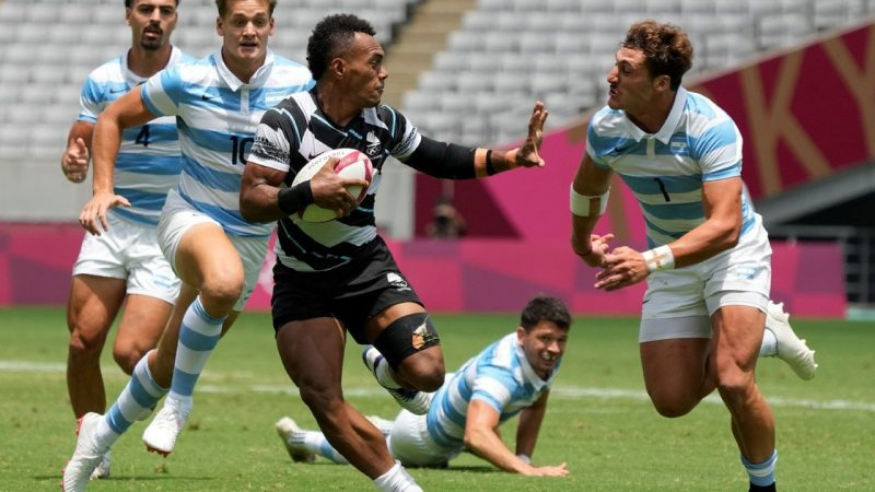 Pumas couldn't with Fiji and would go for the bronze against Great Britain