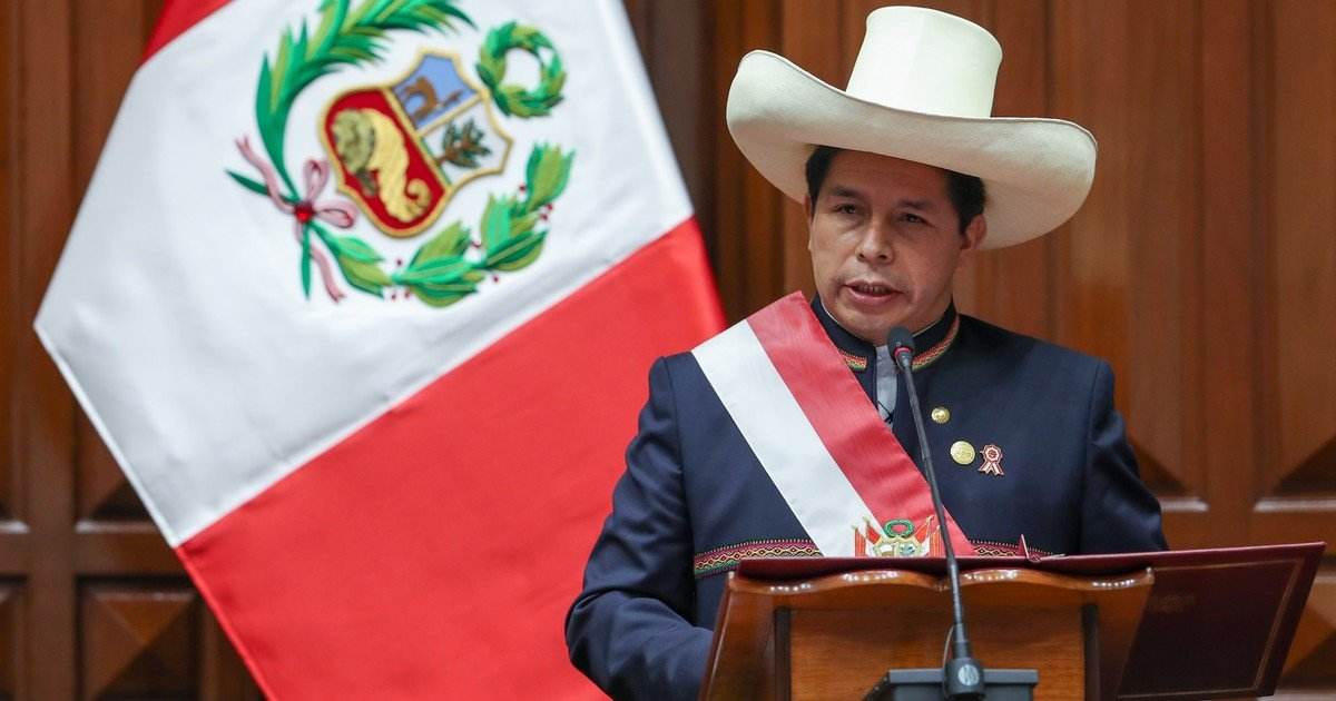 Pedro Castillo announced military service for unemployed youth after taking office as President of Peru