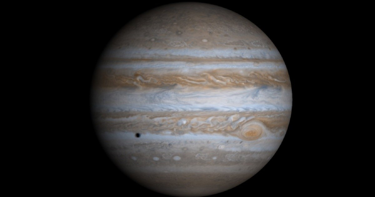 A student has discovered a new moon on Jupiter