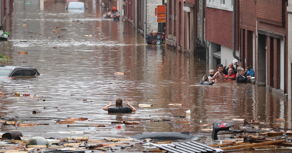 At least 46 dead and dozens missing in storms and floods in Germany and Belgiumبل