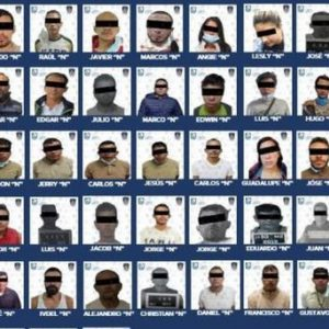 At least 90 people were arrested in 15 days for burglary at CDMX