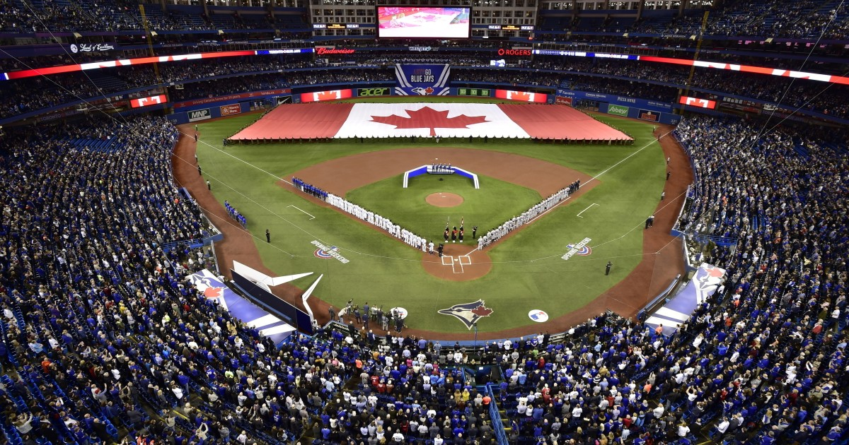 Blue Jays got permission to return to Canada on July 30
