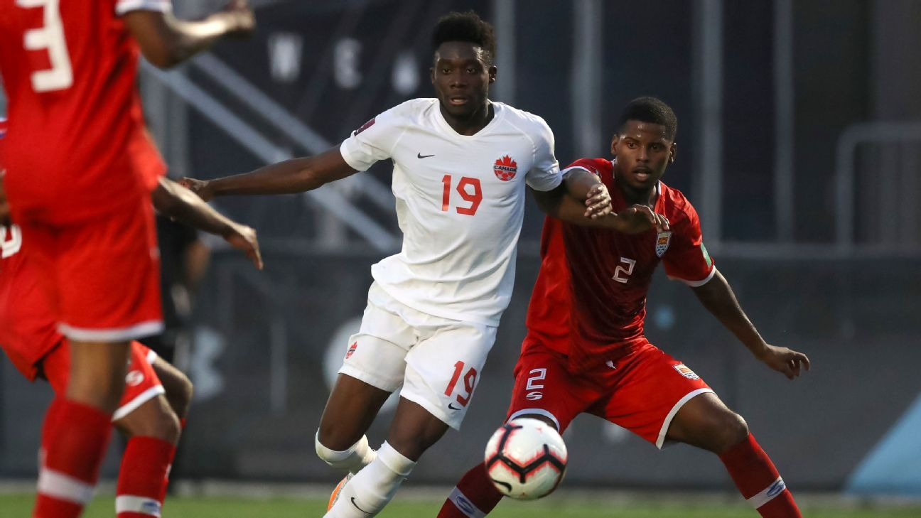 Canada would have to be 'more creative' without Alphonso Davies