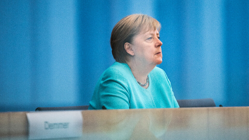 """Delta variable: Angela Merkel warned of exponential growth of cases in Germany 