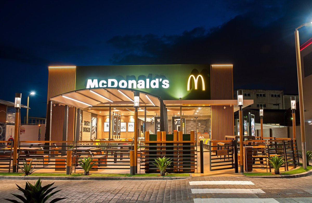 McDonald's profit increased 359% in the second quarter to 1,879 million