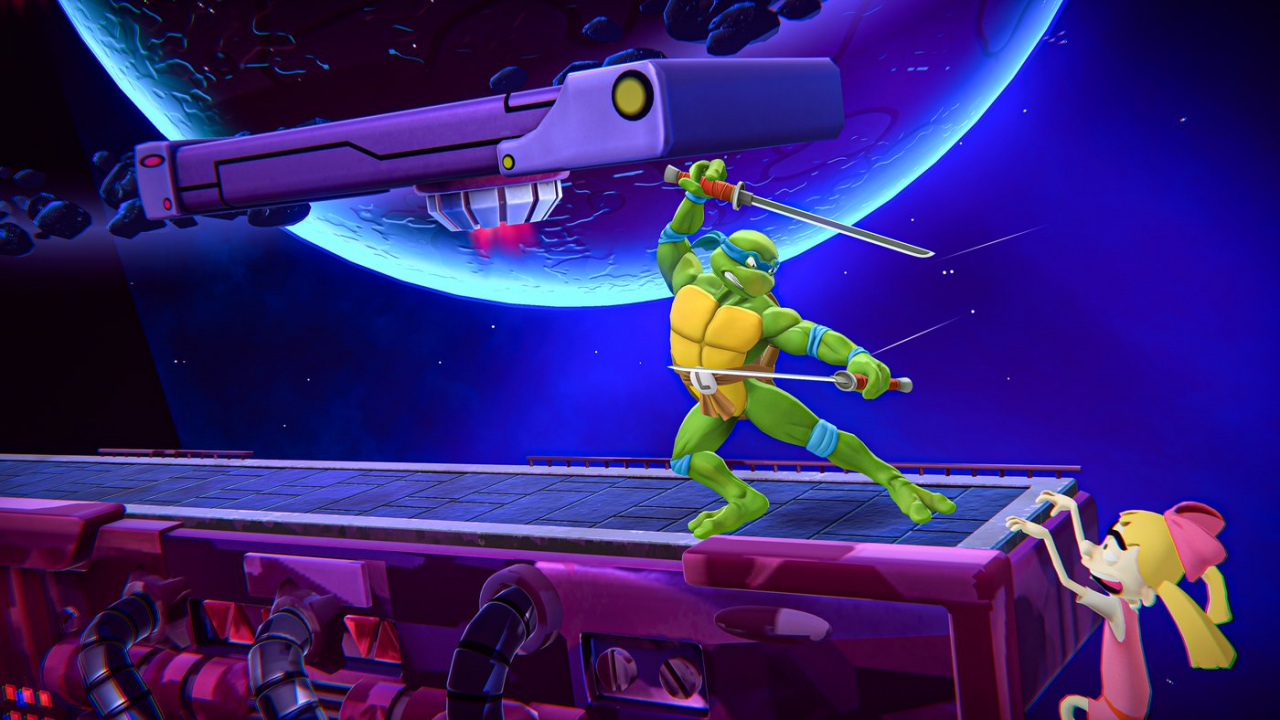 Nickelodeon All-Star Brawl is designed as a competitive game and they are already thinking about downloadable content in the future