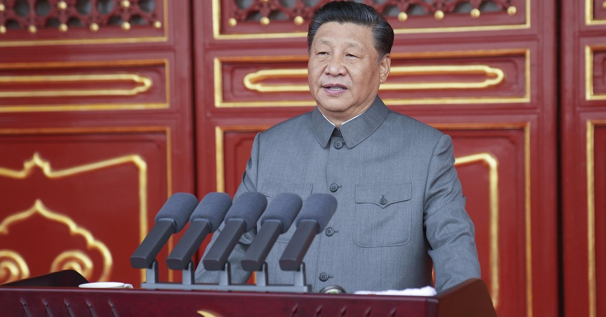 """On the centenary of the founding of the Chinese Communist Party, Xi Jinping threatened """"decisive action"""" to annex Taiwan"""