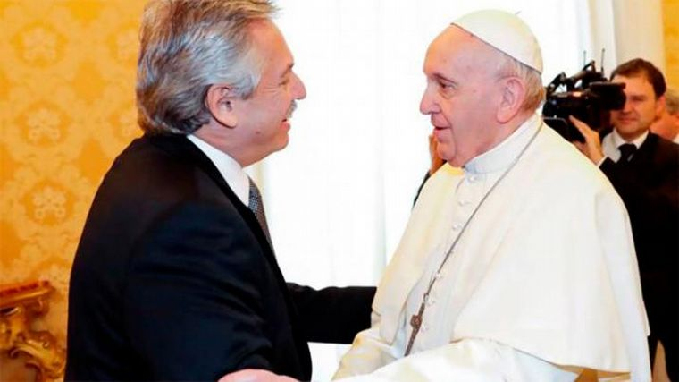 Pope Francis sent a letter to Alberto Fernandez – News