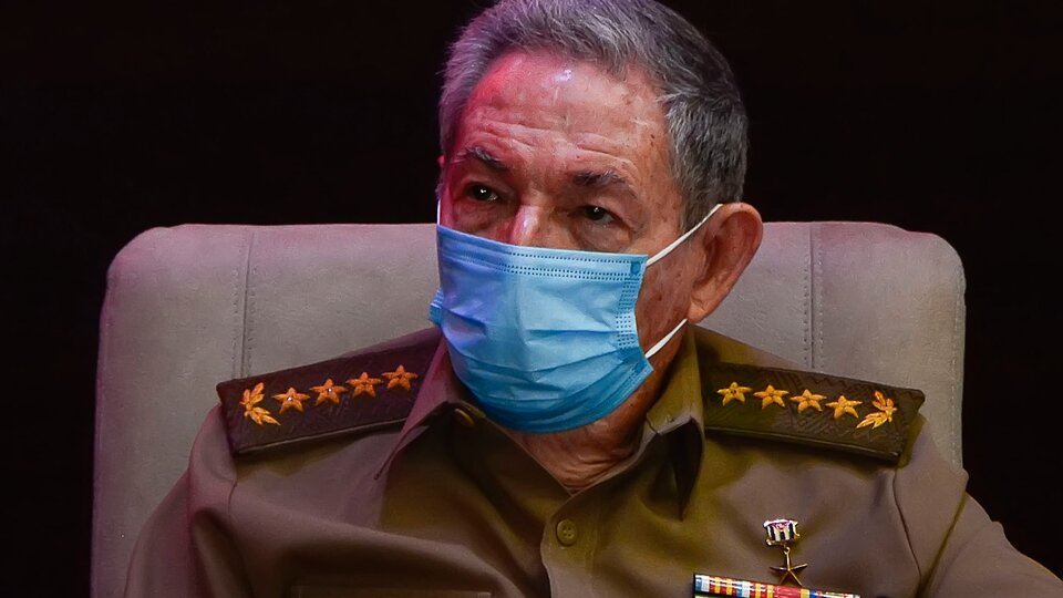 Raul Castro reappears after protests in Cuba    Participate in the PCC meeting