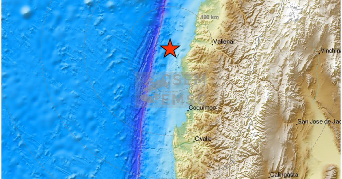 Several moderate earthquakes shook northern Chile