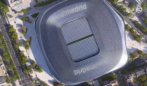 The Bernabéu could be the new home of Real Madrid