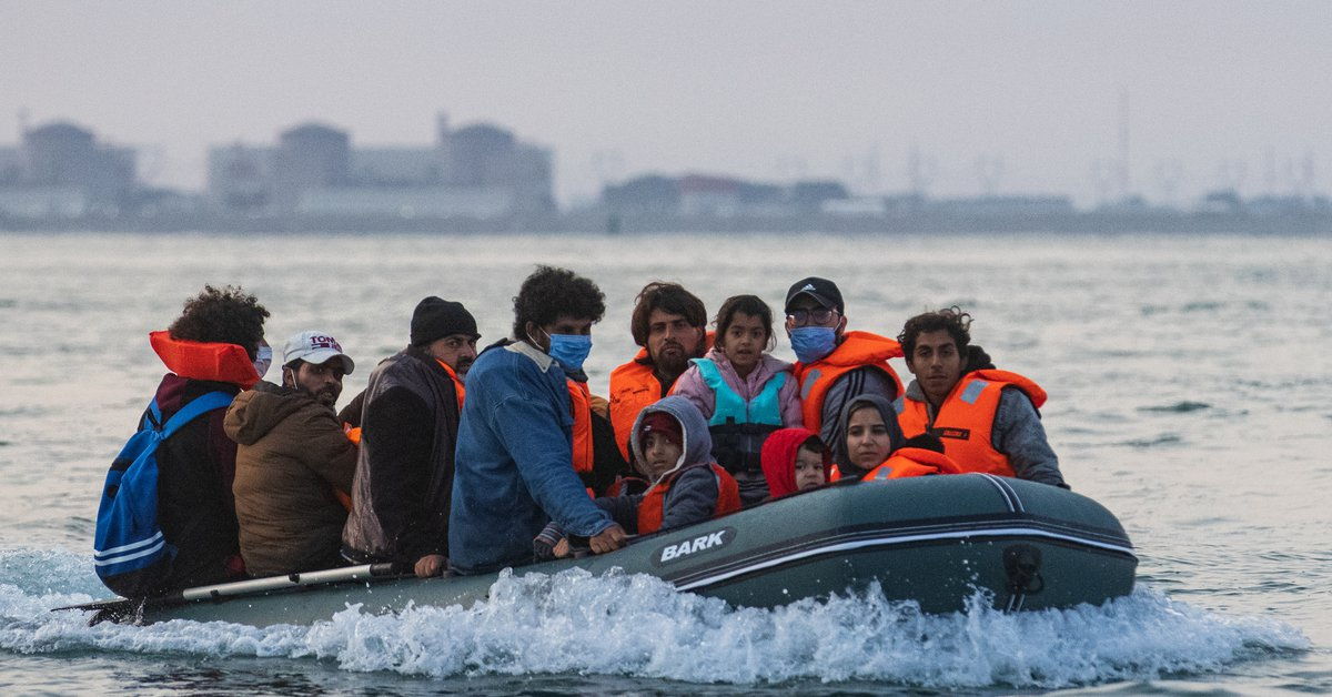 The UK has recorded a daily record of migrants arriving through the English Channel