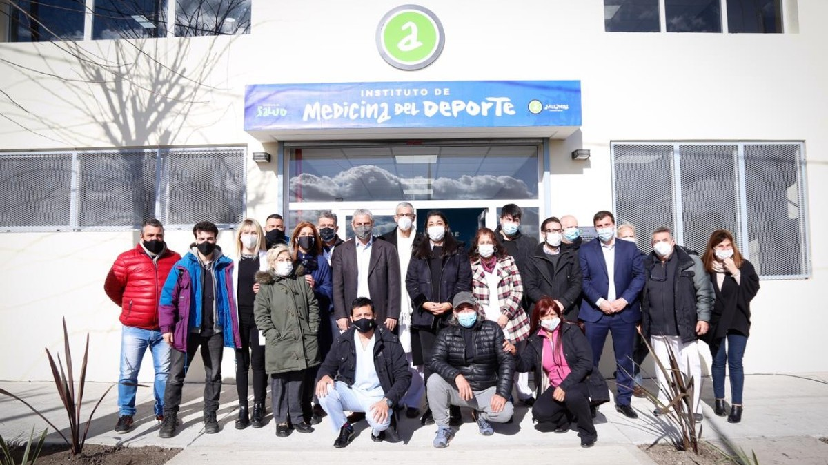 They Inaugurated the Redesign of the Institute of Sports Medicine – InfoRegion
