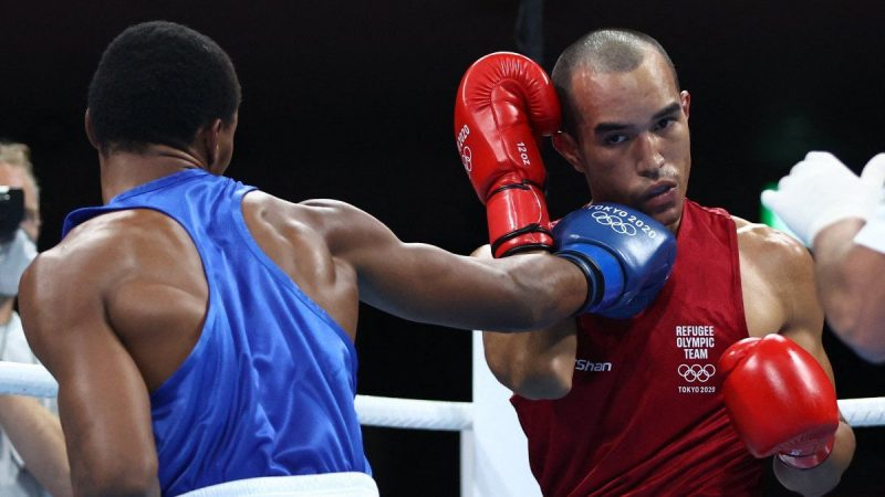 They are dealing with the Venezuelan Olympic boxer in Canada