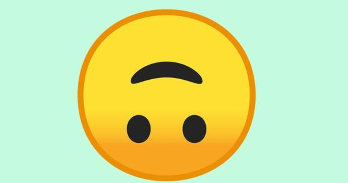 """WhatsApp: What is the true meaning of the """"inverted face"""" emoji?     Chronicle"""