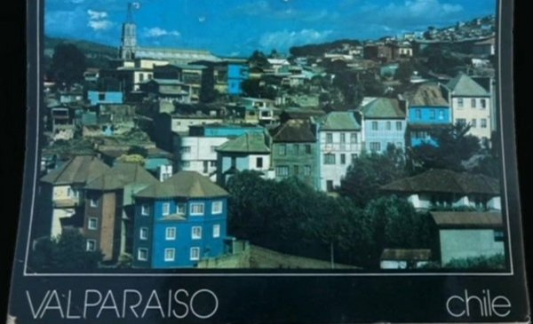 The postcard that took 30 years to get from Chile to its recipient in the UK