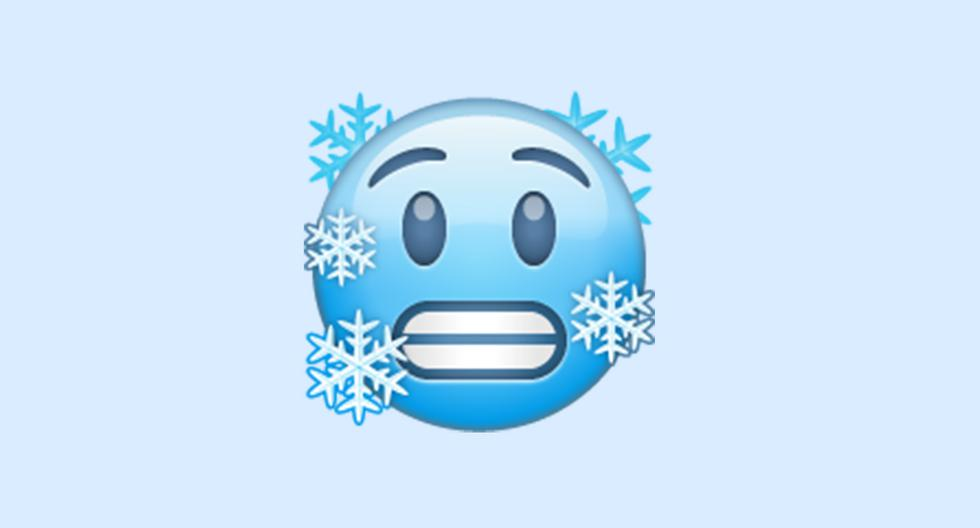 WhatsApp |  Do you mean frozen face emoji |  cold face |  Meaning |  Applications |  Applications |  Smartphone |  Mobile phones |  viral |  trick |  Tutorial |  United States |  Spain |  Mexico |  NNDA |  NNNI |  SPORTS-PLAY