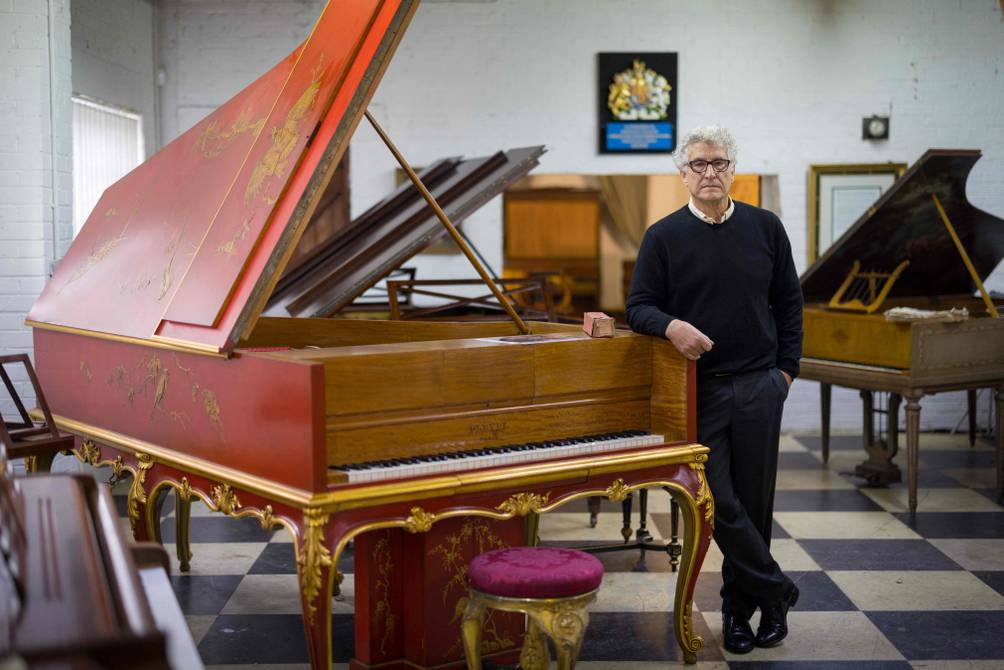 Rare or Whimsical, Her Majesty's Restorer Pianos for Sale |  people |  entertainment